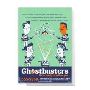 Ghostbusters We Believe You Greetings Card