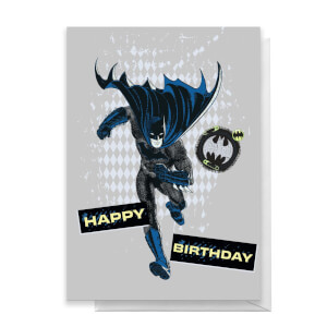 Batman Happy Birthday Greetings Card