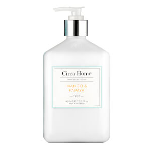 Circa Home Mango and Papaya Hand and Body Lotion 450ml