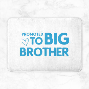 Promoted To Big Brother Bath Mat
