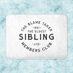 The Eldest Sibling The Blame Taker Bath Mat