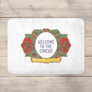 Welcome To The Circus Wide Emblem Bath Mat
