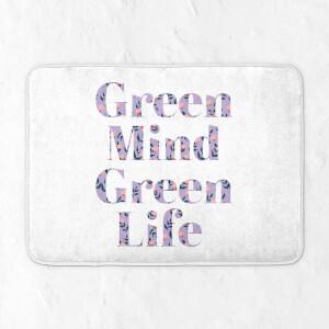 Green Mind Green Life Bath Mat