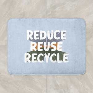 Reduce, Reuse, Recycle Bath Mat