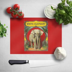 White Elephant Chopping Board