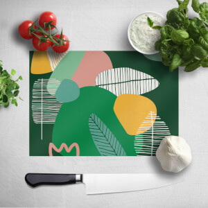 Earth Garden Print Chopping Board