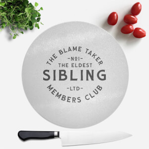 The Eldest Sibling The Blame Taker Round Chopping Board
