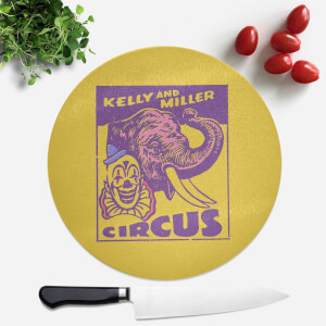 Kelly And Miller Circus Round Chopping Board