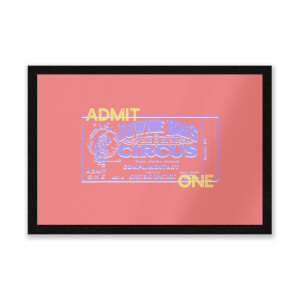 Circus Admittance Entrance Mat