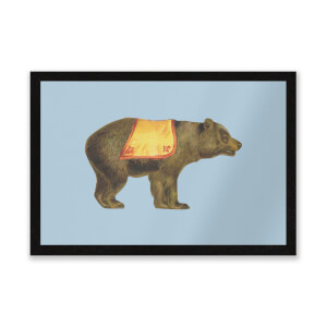 Circus Bear Entrance Mat