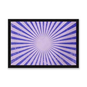 Circus Beams Purple Entrance Mat