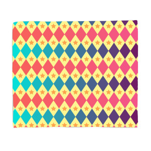 Big Top Pattern Fleece Blanket
