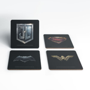 DC Justice League Holy Trinity Coaster Set