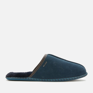 Ted Baker Men's Parick Suede Slippers - Dark Blue