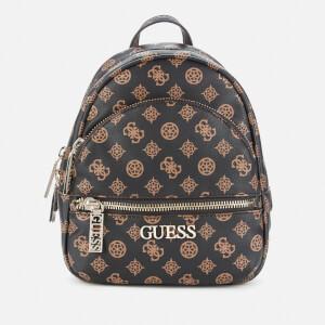 Guess Women's Manhattan Small Backpack - Brown