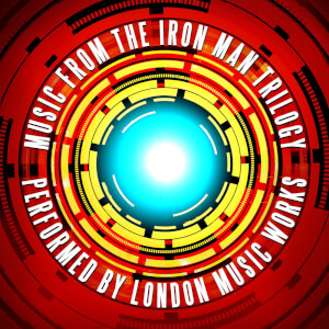 Music from the Iron Man Trilogy 2xLP