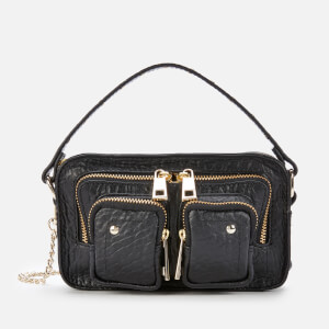 Núnoo Women's Helena Cross Body Bag - Black/Gold