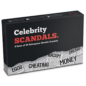 Celebrity Scandals Card Game
