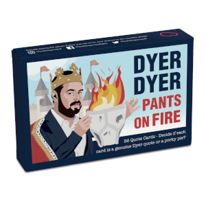 Dyer Dyer Pants on Fire Card Game