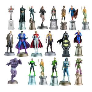 Lot de 20 Figurines DC Comics - Ed. collector Eaglemoss (Set 1)
