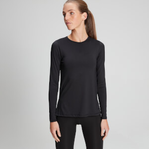 Naisten MP Velocity Long Sleeve -toppi − Musta