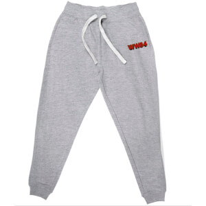 DC Wonder Woman WW84 Embroidered Unisex Joggers - Grey