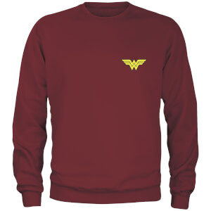 Sweat-shirt DC Wonder Woman - Bordeaux - Unisexe