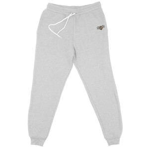 Harry Potter Hufflepuff Embroidered Unisex Joggers - Grey