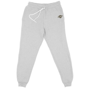 Harry Potter Slytherin Embroidered Unisex Joggers - Grey