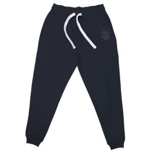 Rick and Morty Rick Embroidered Unisex Joggers - Navy