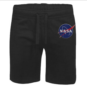 NASA Meatball Unisex Jogger Shorts - Black