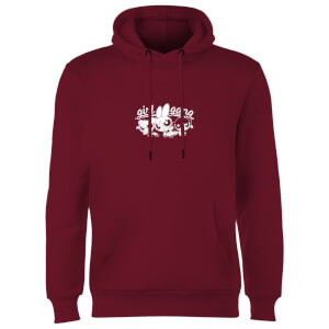 The Powerpuff Girls Girl Gang Unisex Hoodie - Burgundy