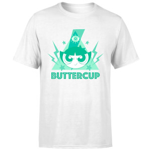 The Powerpuff Girls Buttercup Unisex T-Shirt - White
