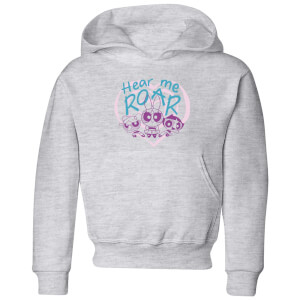 The Powerpuff Girls Hear Me Roar Kids' Hoodie - Grey