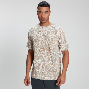 T-shirt Raw Training para Homem da MP - Camuflado