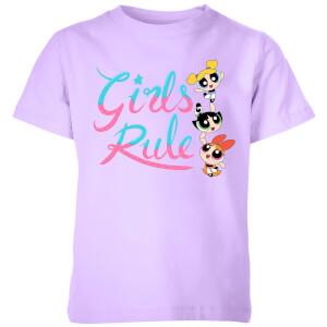 The Powerpuff Girls Girls Rule Kids' T-Shirt - Lilac