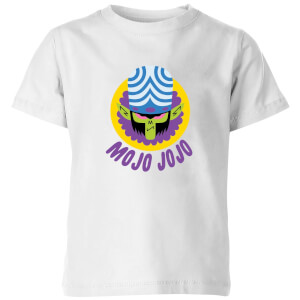 The Powerpuff Girls Mojo Jojo Kids' T-Shirt - White