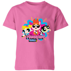 The Powerpuff Girls Kids' T-Shirt - Pink