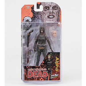 Skybound Walking Dead Alpha Figure (Bloody and B&W Variant)