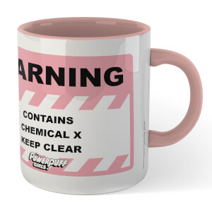The Powerpuff Girls Chemical Mug - White/Pink