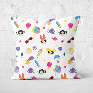 The Powerpuff Girls Colourful Square Cushion