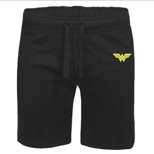 DC Wonder Woman Unisex Cargo Shorts - Black