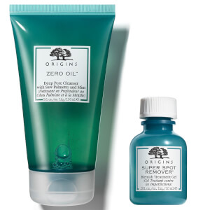 Origins Zero Oil Pore Cleanser and Bleamish Treatment Gel Bundle