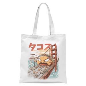 Ilustrata Takaiju Tote Bag - White