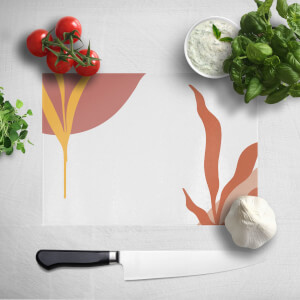 Abstract Garden Chopping Board