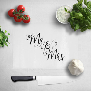 Mr & Mrs Chopping Board