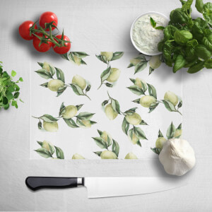 Printed Flowers Chopping Board