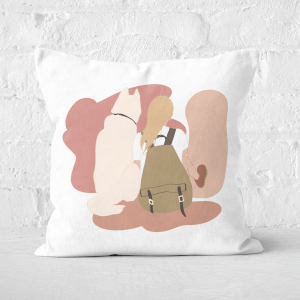 Travel Buddy Square Cushion