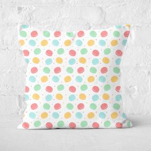 Macaron Party Square Cushion