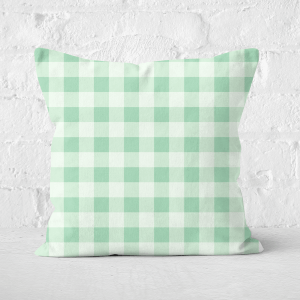 Baking Blanket Green Square Cushion